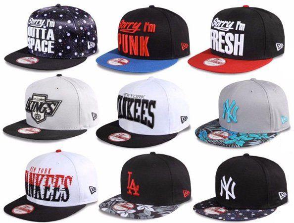 New Era Caps   viele Labels u. Farben (über 30 Modelle) für je nur 11,90€ (statt 21€)