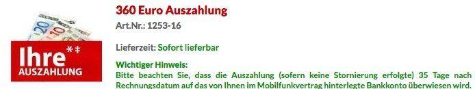 Vodafone Data Go L mit 12GB LTE (bis 500 Mbit/s) nur 14,16€ mtl dank Prämie