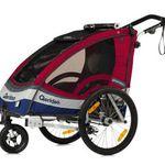 Qeridoo Sportrex1 Kinderfahrradanhänger 2017er Modell für 284,99€