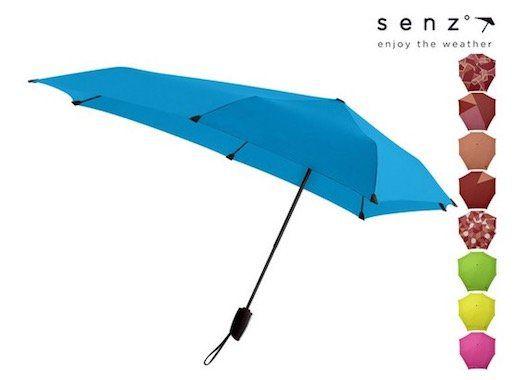 senz Sturm Regenschirm in verschiedenen Farben für 27,90€ (statt 34€)