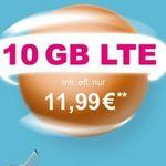 Telekom 10GB LTE Datentarif für 13,99€ mtl. + 48€ Aktionsguthaben