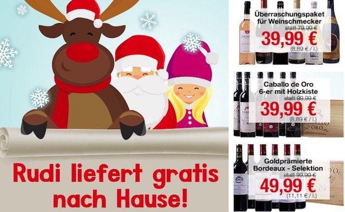 Weinvorteil heute keine Versandkosten + ab 12 Flaschen Wein eine Magnum Flasche Casa Safra Gran Reserva gratis!