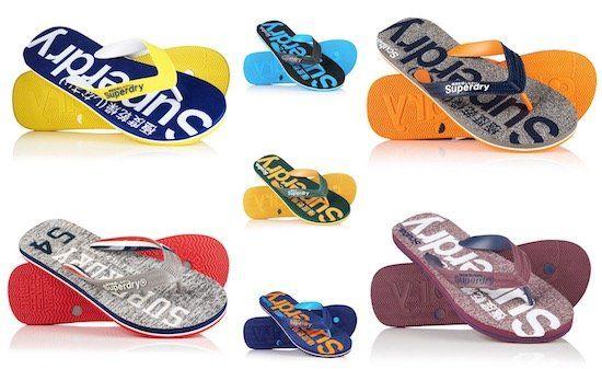 Superdry Flip Flops für Damen und Herren bis Gr. 45 für je 9,95€ (statt 16€)