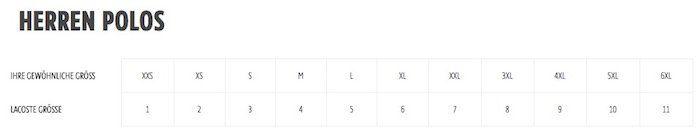 Lacoste Herren Poloshirts in Slim Fit für je 39,90€