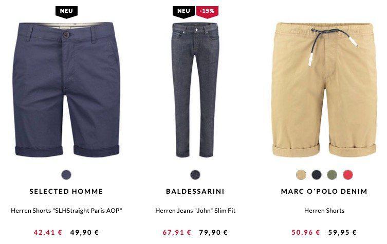 15% Rabatt auf Sommerhosen und Jeans + 5€ Gutschein bei engelhorn   z.B. Tommy Jeans Ronnie Tapered Fit ab 54,41€ (statt 68€)