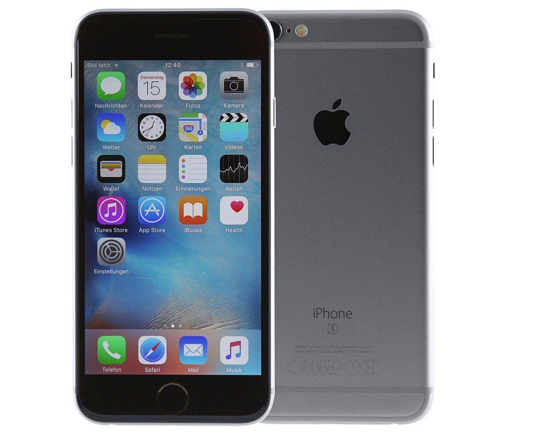 Ausverkauft! Apple iPhone 6S mit 128GB als Gebrauchtware für 125,91€