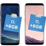 Samsung S8 + wireless Charger + O2 Allnet + SMS 6GB Flat bis 225Mbit/s + endlos surfen mit 1Mbits für nur 39,99€ mtl.