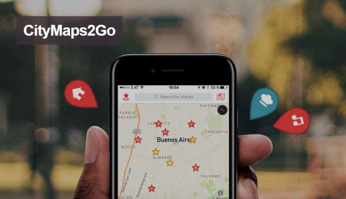 CityMaps2Go Pro (Android, iOS) kostenlos statt 10,99€