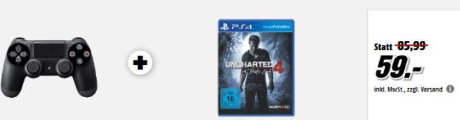 PlayStation 4 Konsolen und Games   uam. im Media Markt Dienstag Sale