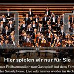 7 Tage Digital Concert Hall online Streaming der Berliner Philharmoniker gratis