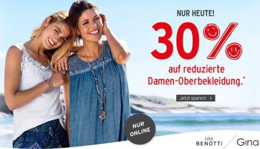 Ernstings Family mit 30% Extra Rabatt auf Damenoberbekleidung
