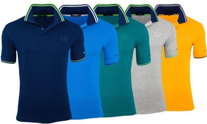 Ferre A103   Herren Baumwoll Poloshirts für je 15,99€