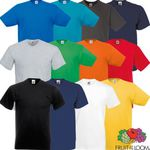 Fruit of the Loom Valueweight – 5er Pack V-Neck Herren T-Shirts für 9,99€
