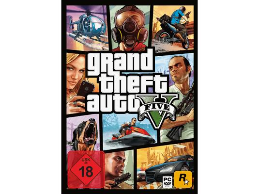 Grand Theft Auto V   PC USK 18 Game für 15€ (statt 23€)