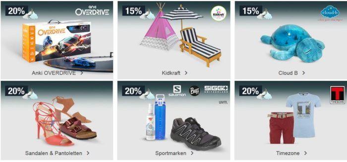 20% Rabatt auf anki OVERDRIVE, Fashion, Gartenmöbel uvm.   Galeria Kaufhof Mondschein Angebote