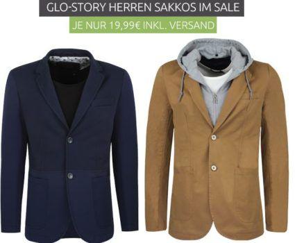 Glo Story Herren Sakkos für je nur 19,99€