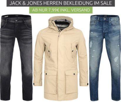 Jack & Jones Herren Fashion Sale   Crew Neck Herren Pullover für 7,99€