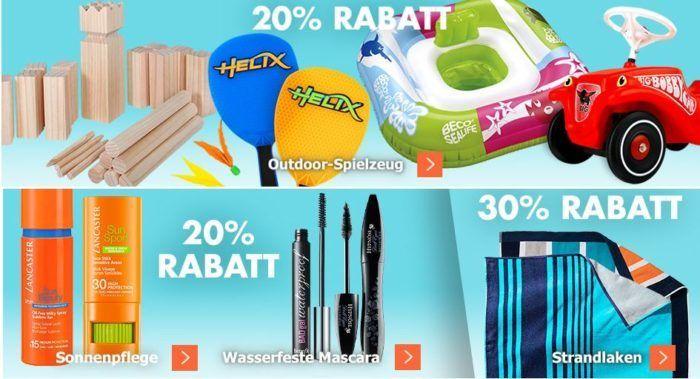 Karstadt Kracher mit z.B. 20% Rabatt auf Schuhe und Sportschuhe und Outdoorspielzeug [Nerv & Co.]