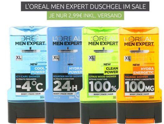 LOréal Men Expert Duschgel 300ml für 0,99€