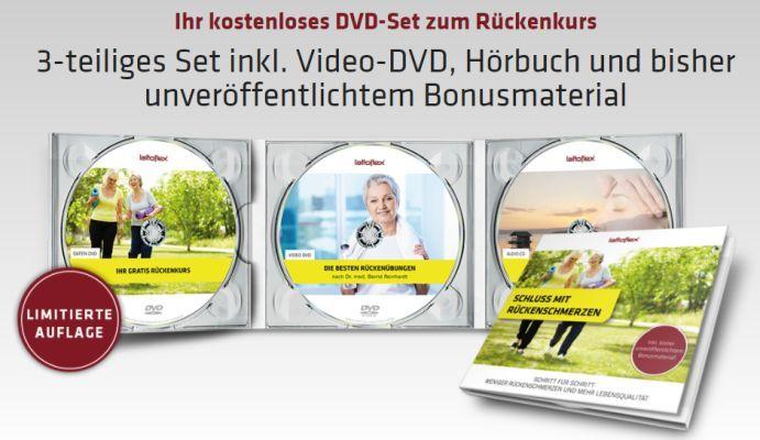 Lattoflex – DVD Set zum Rückenkurs gratis