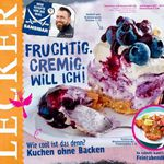 """""""Lecker"""" Koch Magazin im Jahresabo für 35€ + 30€ Amazon Gutschein"""