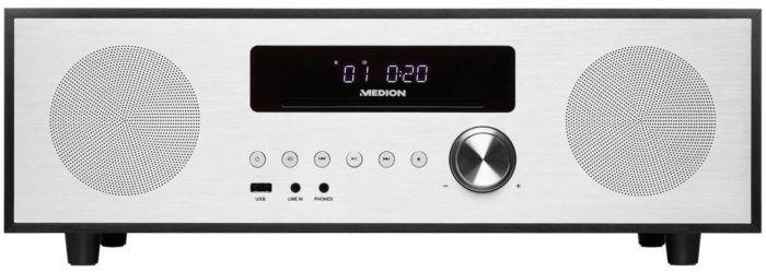MEDION LIFE X64400 Mikro Audio Anlage mit Bluetooth, DAB+ Radio, MP3 statt 180€ für 149,99€