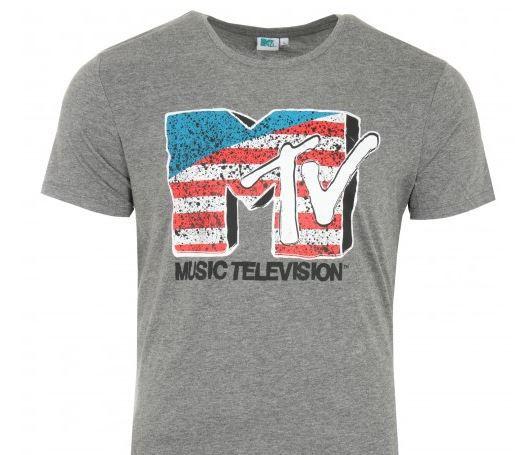 MTV American Flag   Kult Herren T Shirt statt 15€ für 5,99€