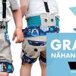 Nähanleitung und Schnittmuster für eine Kinderhose gratis