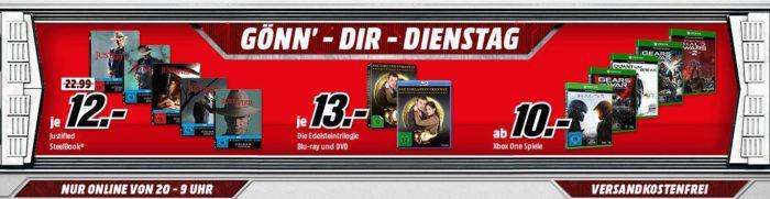 XBox Wireless Controller  für 39€, BioShock   The Collection [Xbox One] für 25€ uam. im Media Markt Dienstag Sale