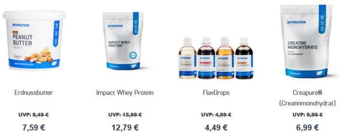 Myprotein 60% Summer Sale   heute mit 15% extra Rabatt bis Mitternacht