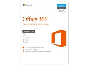 MS Office 365 Personal Abonnement (1 Jahr) für 33€ (statt 49€)