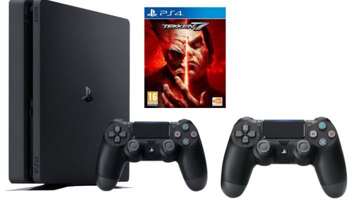 Playstation 4 slim 1TB + 2ter Controller + TEKKEN 7 ab 295€ (statt 358€)