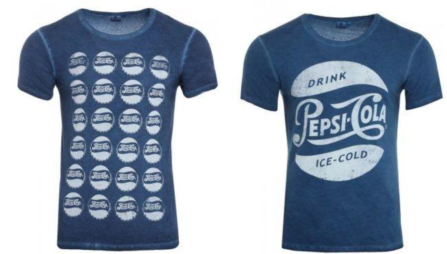 PepsiCo   Pepsi Cola Logo T Shirt sttatt 15€ für 7,99€