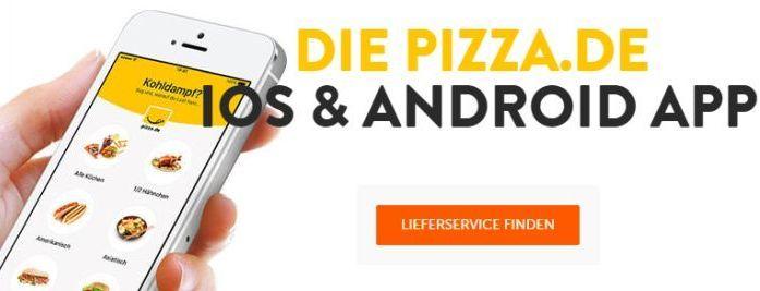 diverse Gutscheine für Pizza.de (auch für Bestandskunden, App notwendig)