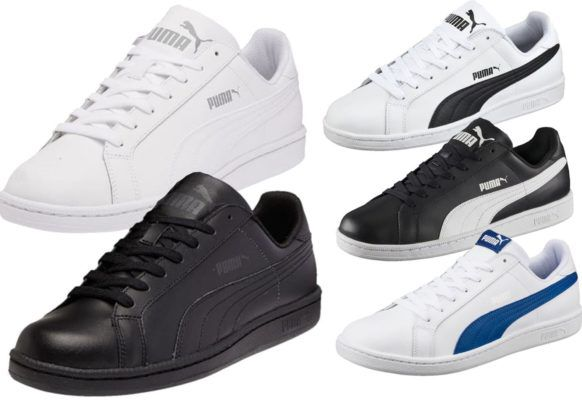 PUMA SMASH L   div. Herren & Damen Sneaker für je 32,95€