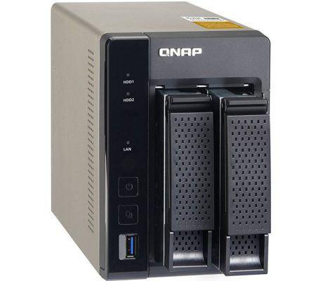 QNAP TS 253A 4G 2 Bay NAS Server Leergehäuse für 299€ (statt 359€)