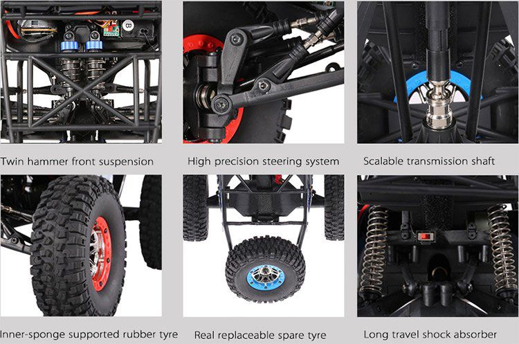 WLtoys 10428 C2   RC Off Road Buggy für ~80€ (statt 110€)