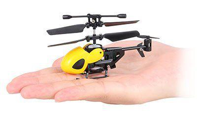 QS QS5010   Super Mini Infrarot RC Hubschrauber mit Gyroskop für 10,85€