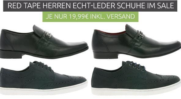 Red Tape Herren Schuhe: Sneaker, Slipper, Schnürschuhe für je 19,99€