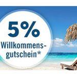 Lidl Reisen – dank Newsletter Anmeldung 5% Cashback + gratis ELVIA Reiserücktritts Basisschutz