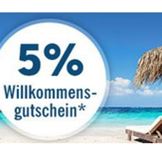 Lidl Reisen   dank Newsletter Anmeldung 5% Cashback + gratis ELVIA Reiserücktritts Basisschutz
