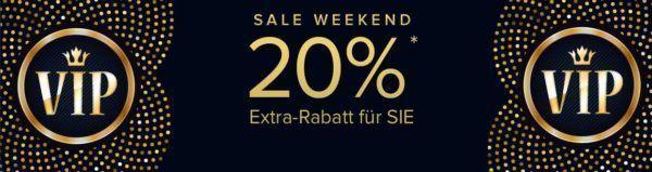 dress for less VIP Weekend Sale mit bis zu 60% Rabatt + 20% Extra Rabatt + 10% NL Gutschein bis Mitternacht