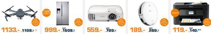 Saturn Late Night Shopping Übersicht   u.a.: Epson EH TW5300 FullHD Beamer für 499€