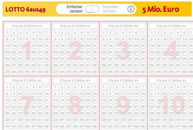 12 Lotto Tipps (5 Mio. Jackpot) + 5 Rubbellose für 2,99€   nur Neukunden