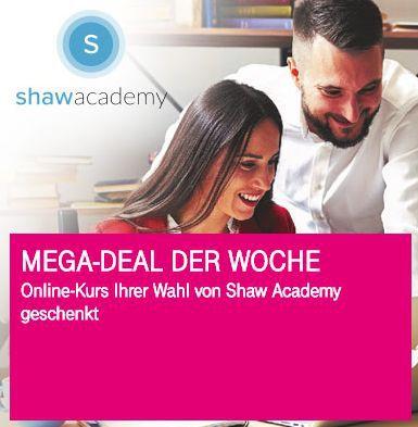Nur für Telekom Kunden: kostenloser Shaw Academy Online Kurs