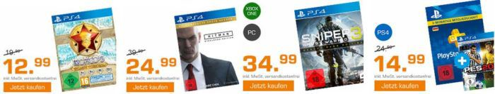 Saturn Weekend Sale: u.a. DIE 2 (Collectors Box)   (Blu ray) für 29,99€   PS Card + PES 16 für 14,99€