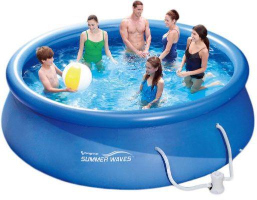 Summer Waves Fast Set Quick Up Pool 366x91cm mit Filterpumpe für 67,96€
