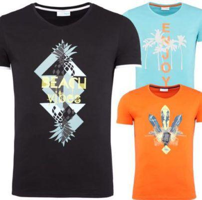 SummerFRESH SF001   Herren Logo T Shirts für je 9,85€