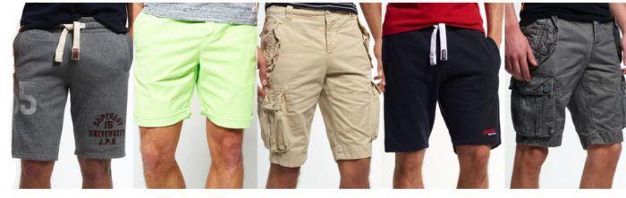 SUPERDRY   60 Shorts Modelle für Damen und Herren für je 27,95€