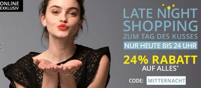 Takko Late Night Fashion Shopping: 60% SALE + 24% extra Rabatt bis Mitternacht
